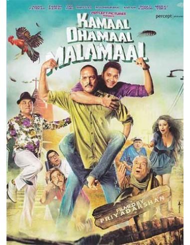 Kamaal Dhamaal Malamaal DVD (FR)