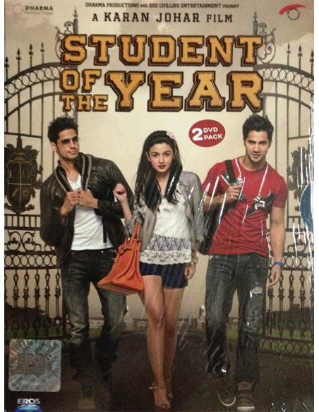 Student Of The Year DVD [2 Disc Edition]