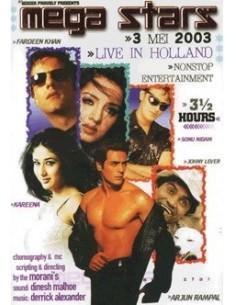 Mega Stars 2003 DVD