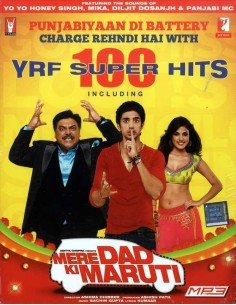 Mere Dad Ki Maruti & Other YRF 100 Super Hits - MP3