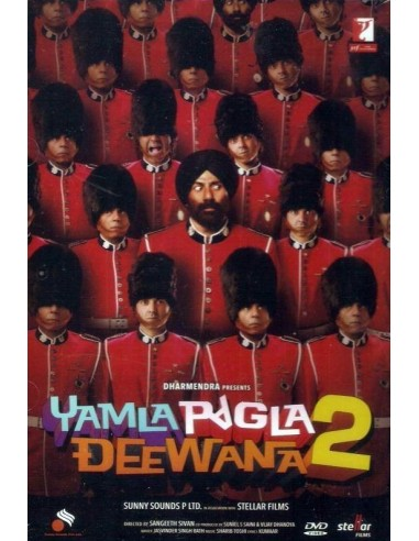 Yamla Pagla Deewana 2 DVD