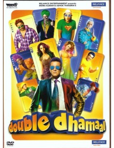 Double Dhamaal DVD (FR)