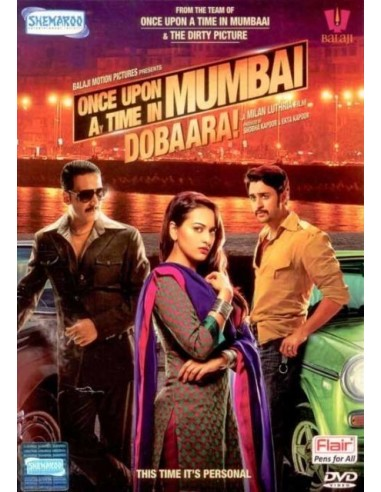 Once Upon Ay Time In Mumbaai Dobaara DVD
