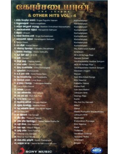 Kochadaiiyaan & Other Hits - MP3
