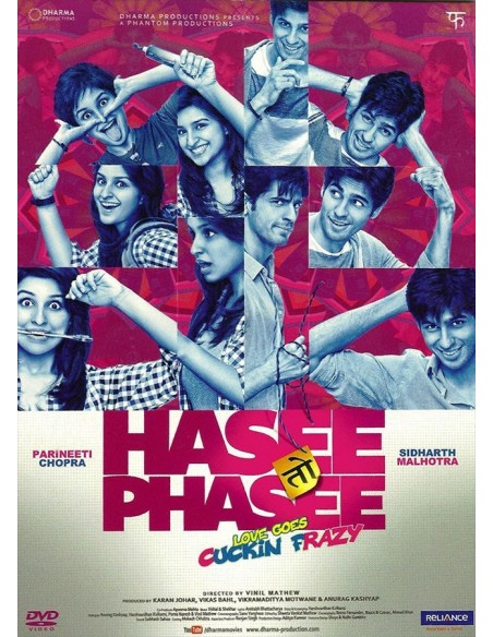 Hasee Toh Phasee DVD (FR)