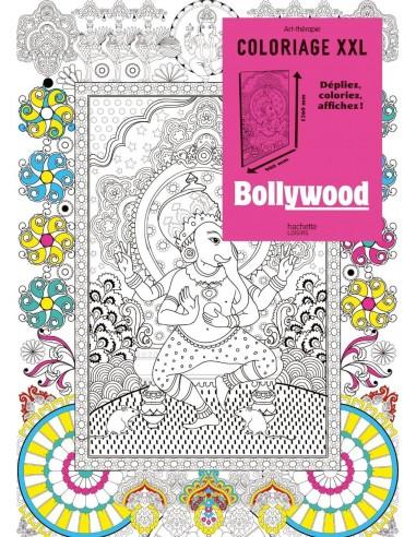 Coloriage XXL Bollywood
