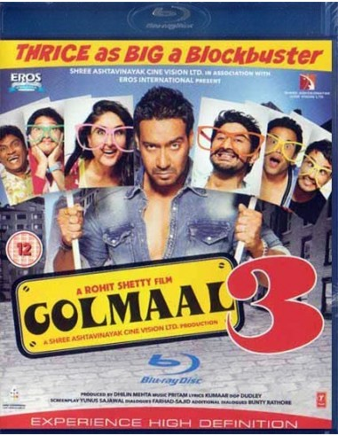 Golmaal 3 (Blu-Ray)