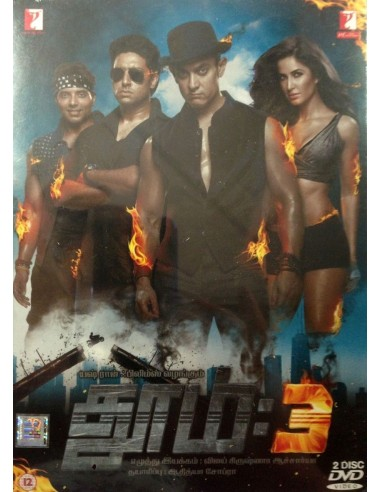 Dhoom:3 - Collector 2 DVD (Tamil)