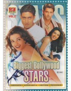 Biggest Bollywood Stars - Vol.2 (DVD)