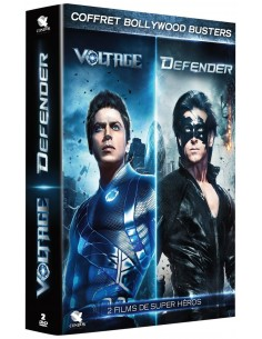 Coffret Bollywood Busters : Voltage, Defender DVD