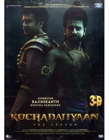Kochadaiiyaan: The Legend (3D) DVD
