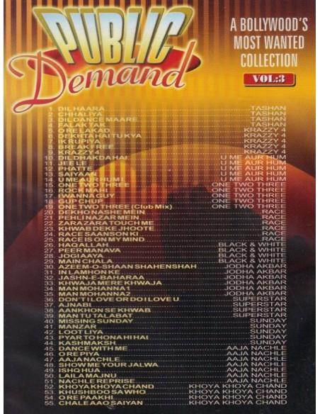 Public Demand Vol.3 DVD