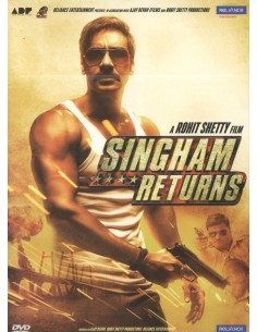 Singham Returns DVD (FR)