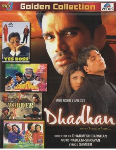 Golden Collection: Dhadkan - Yes Boss - Dharti Putra - Border - Saajan Ki Baho Mein (MP3)