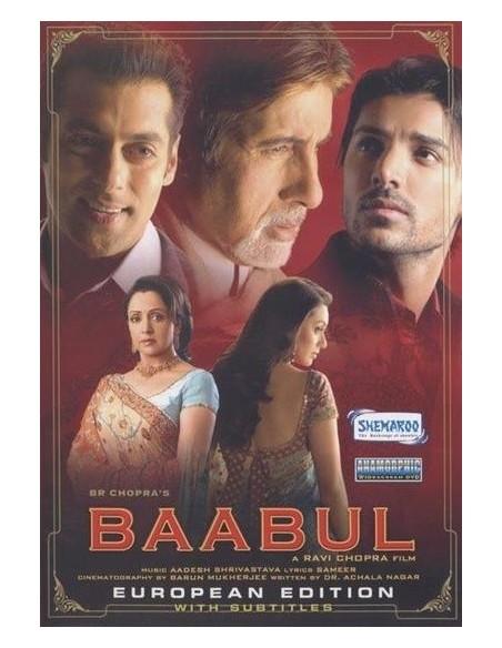 Baabul DVD