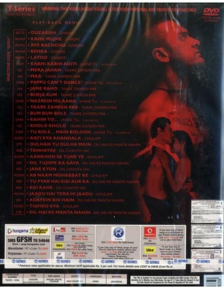Ghajini - Full Songs & Other Hits (DVD)