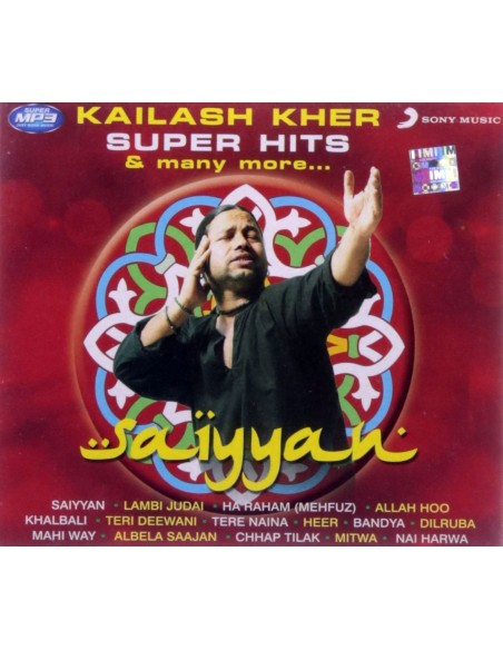 Saiyyan: Kailash Kher Super Hits and Many More (MP3)