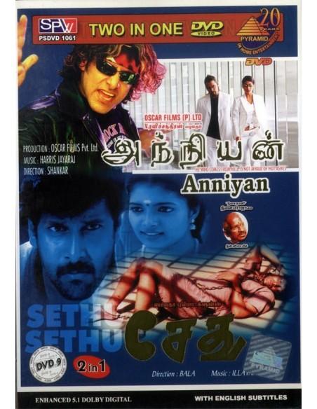 Anniyan / Sethu (DVD)