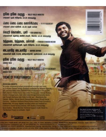 Pandiya Naadu CD