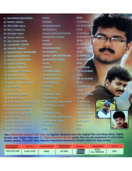 Vijay Hits DVD