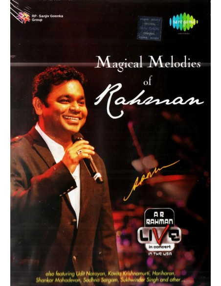 Magical Melodies Of Rahman - Live In Concert USA (DVD+CD)
