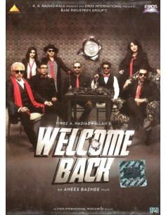 Welcome Back DVD