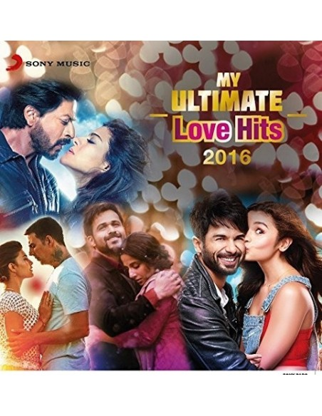 My Ultimate Love Hits 2016 CD
