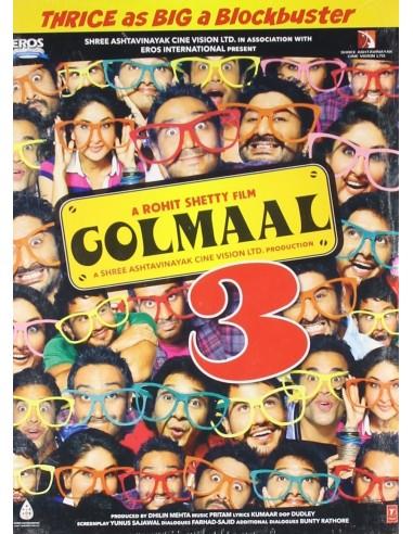 Golmaal 3 DVD