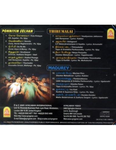 Ponniyin Selvan / Thirumalai / Madurey (CD)
