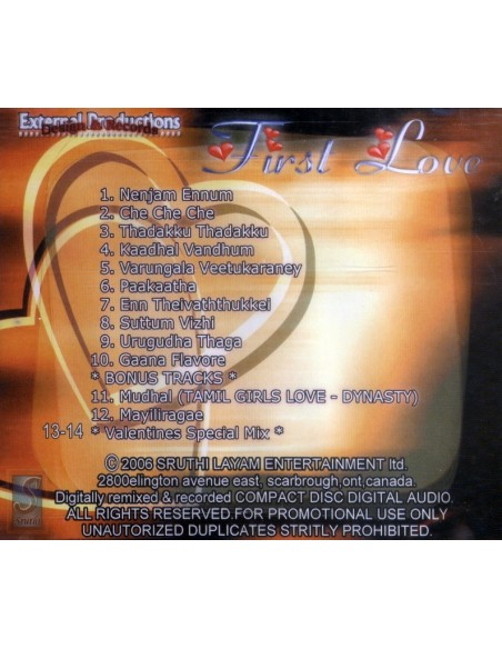 First Love - Remix (CD)