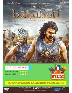 Baahubali: The Beginning DVD (FR)