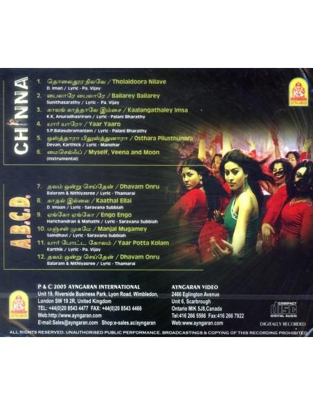 Chinna / ABCD (CD)