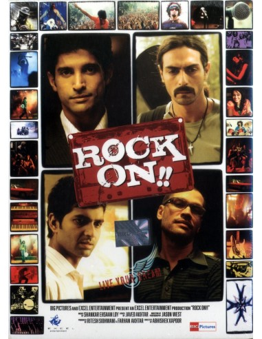 Rock On DVD