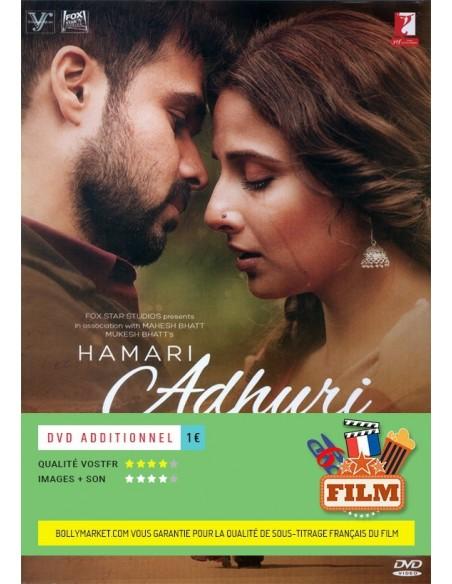 Hamari Adhuri Kahaani DVD (FR)