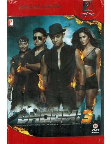 Dhoom:3 - Collector 2 DVD (FR)