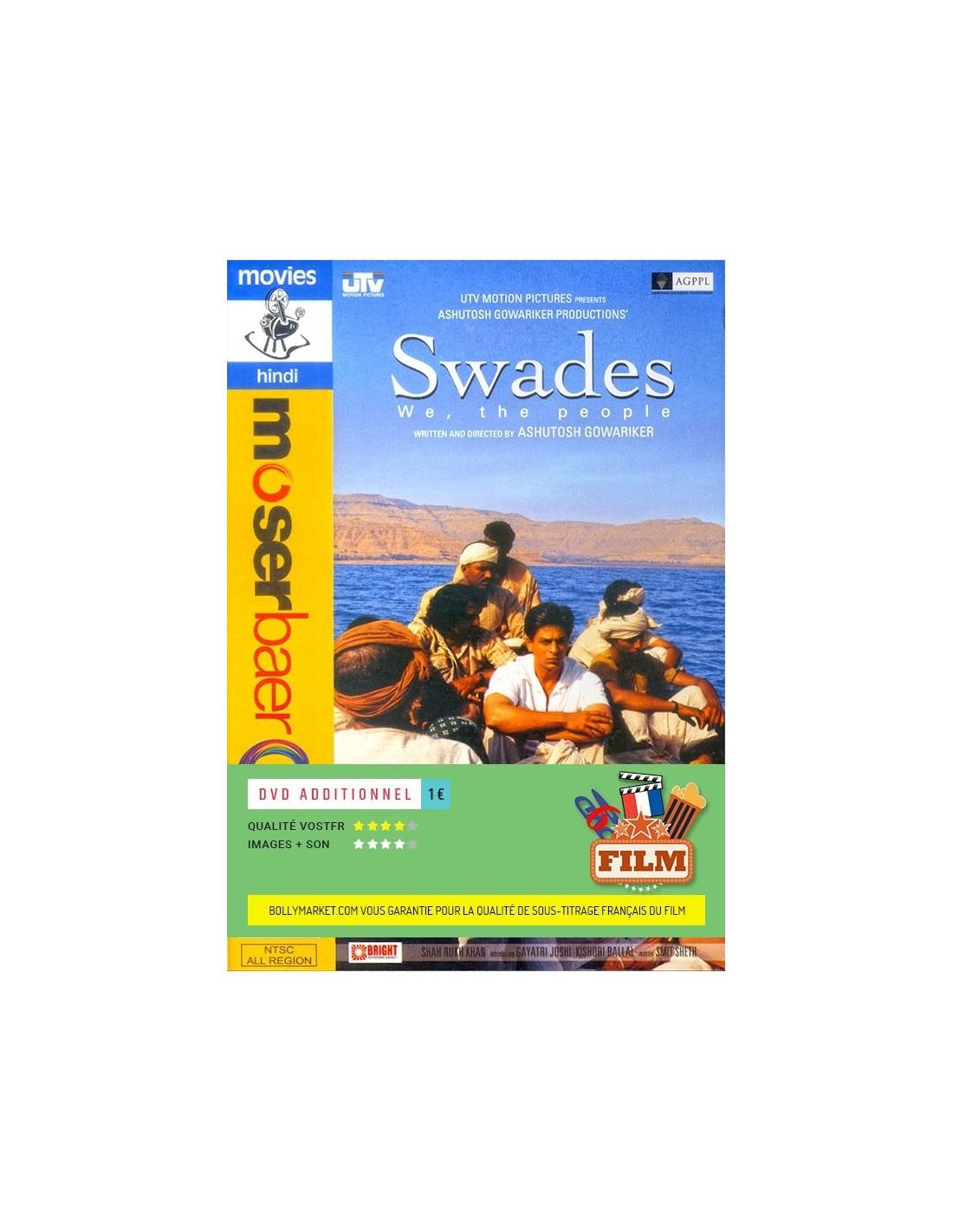 swades dvd disponible en fran ais dvdfr inclure film sous titr fran ais 1. Black Bedroom Furniture Sets. Home Design Ideas