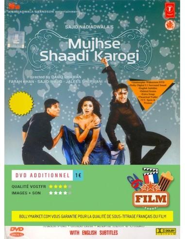 Mujhse Shaadi Karogi DVD (Édition Prestige)