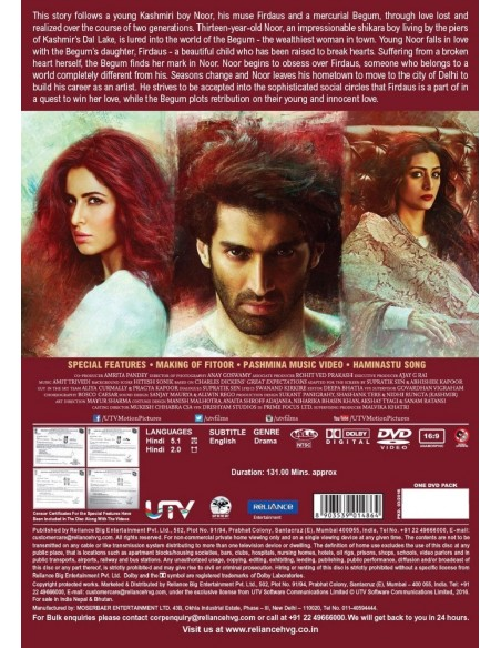 Fitoor DVD