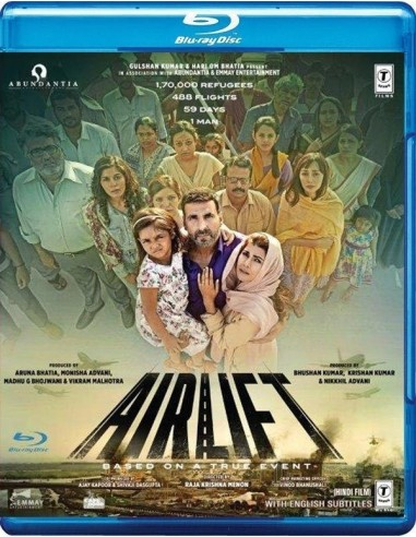 Airlift (Blu-Ray) [FR]