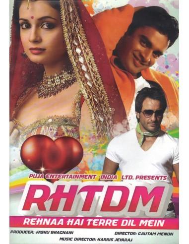 Rehnaa Hai Terre Dil Mein DVD
