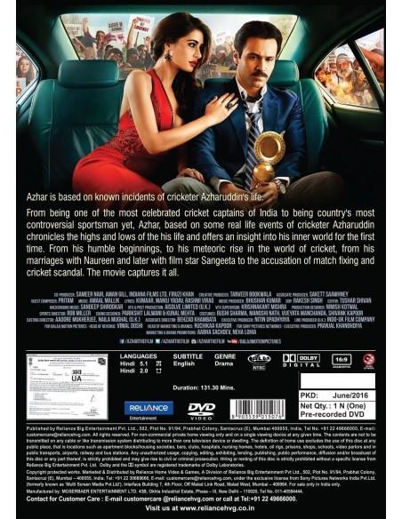 Azhar DVD