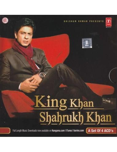 King Khan Shahrukh Khan - Coffret 4 CD