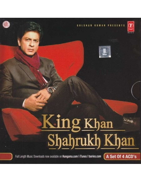 King Khan Shahrukh Khan - Coffret 4 CD