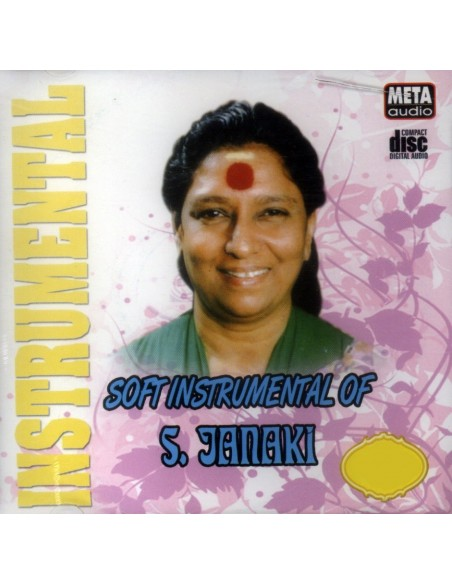Soft Instrumental of S. Janaki CD