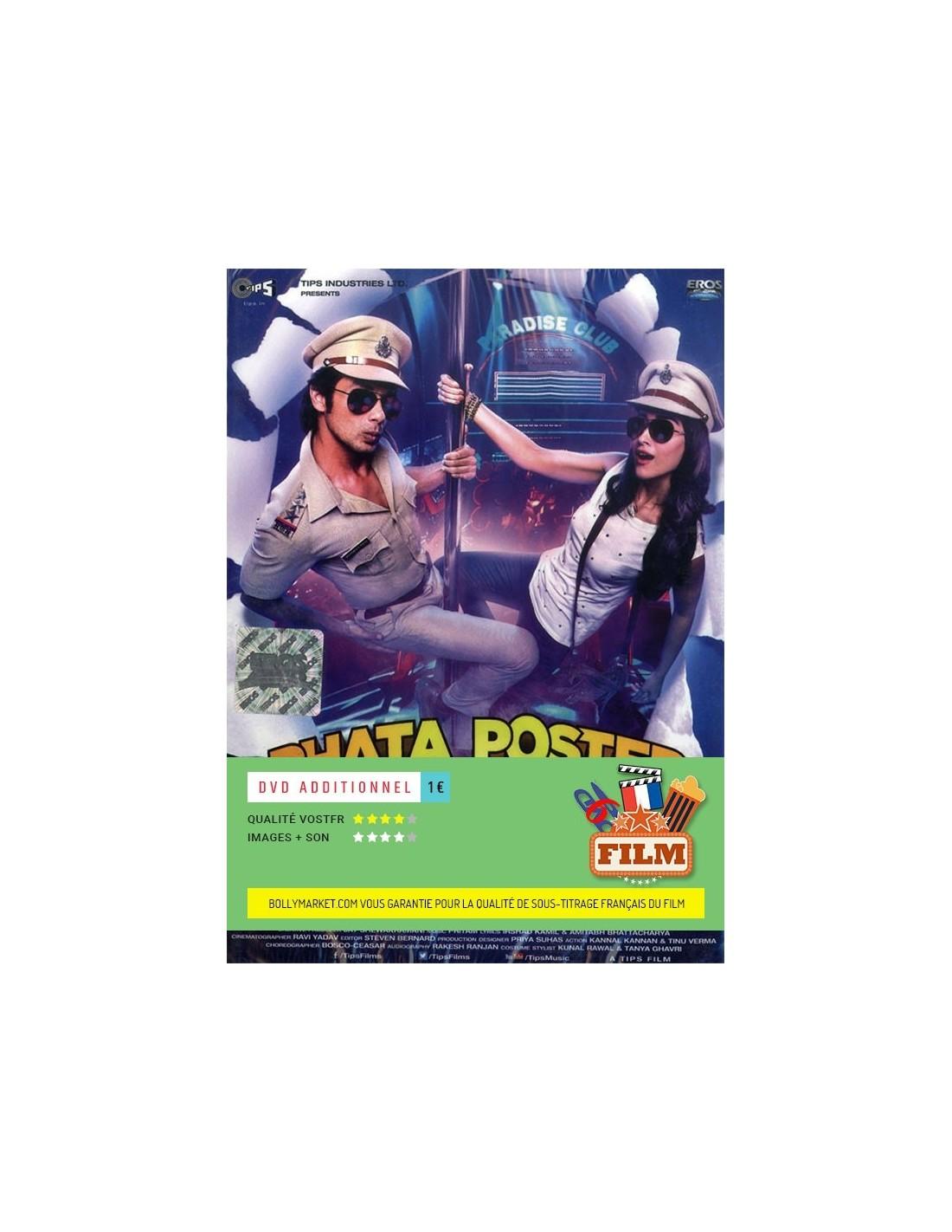phata poster nikla hero dvd disponible en fran ais. Black Bedroom Furniture Sets. Home Design Ideas