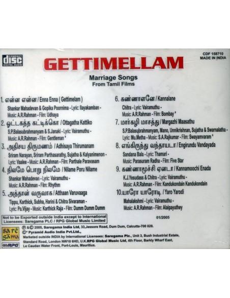 Kettimelam CD