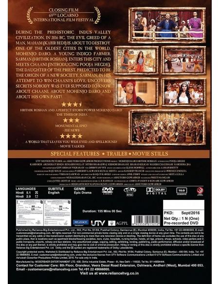 Mohenjo Daro DVD