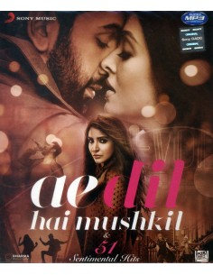 Ae Dil Hai Mushkil & 51 Sentimental Hits (MP3)