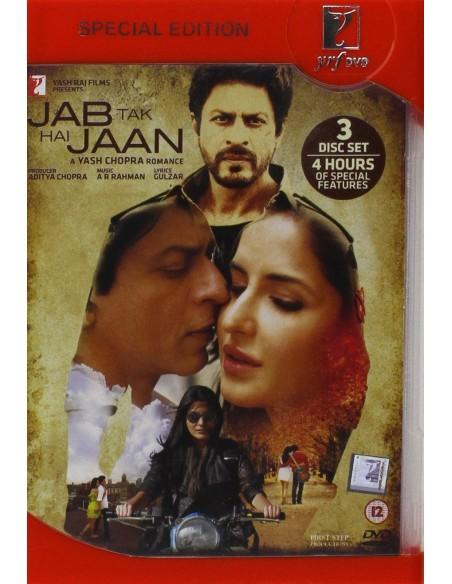Jab Tak Hai Jaan DVD [3 Disc Special Edition]