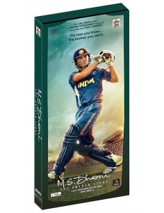 M.S. Dhoni: The Untold Story DVD [Édition Prestige]